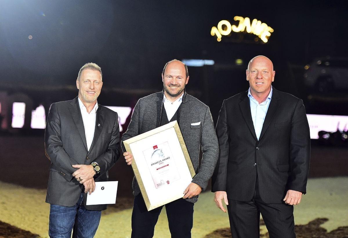 Friedrich Lixl (Georg Pappas Automobil AG) erhielt den Amadeus Award 2015. © Daniel Kaiser