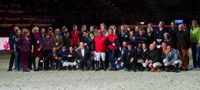 Alle kamen um Hugo die Ehre zu erweisen! © Nini Schäbel