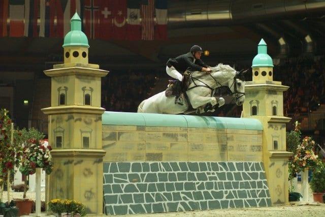 Evertse Denis (NED) mit Pegasus