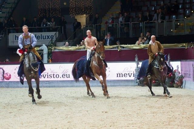 Thomas Kleis (GER) mit Quick Vainqueur, Niels von Hirschheydt (GER) mit Condor und James Williams Passt (AUS) mit Yirrkala Elliot © Nini Schäbel