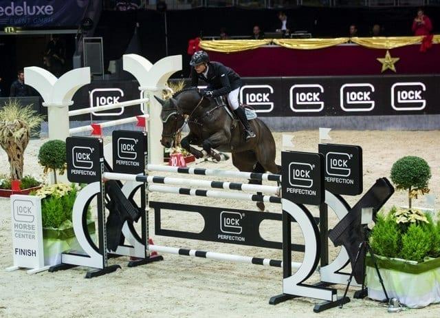 Platz drei ging an den Olympiasilbermedaillengewinner von London, Marc Houtzager (NED) auf Baccarat. © Nini Schäbel