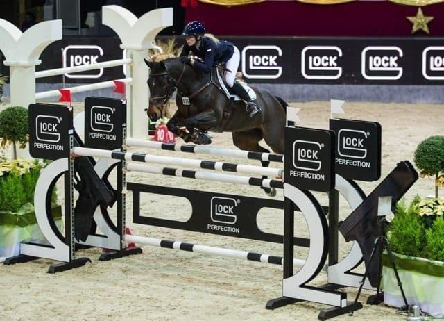 Jessica Mendoza (GBR) und ihr fantastisch springender Spirit T holten sich Platz zwei. © Nini Schäbel