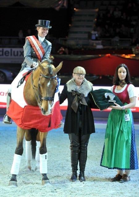 Anky van Grunsven mit Salinero