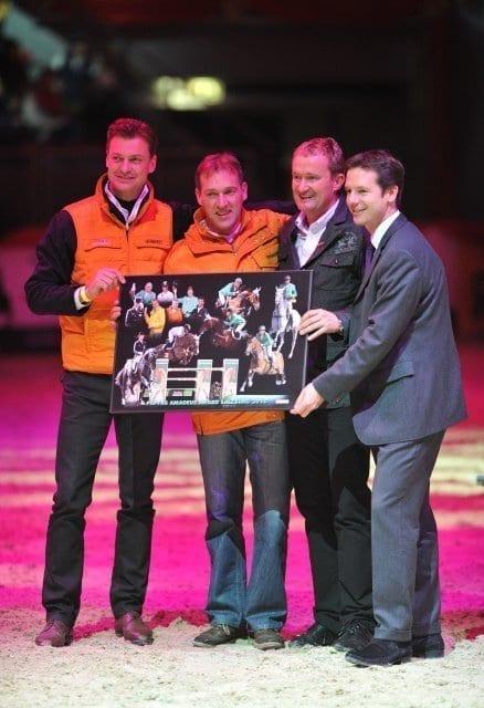 Peter Gmoser, Gerfried Puck, Wolfgang Pirker und Sportlandesrat Mag. David Brenner © Fotoagentur Dill