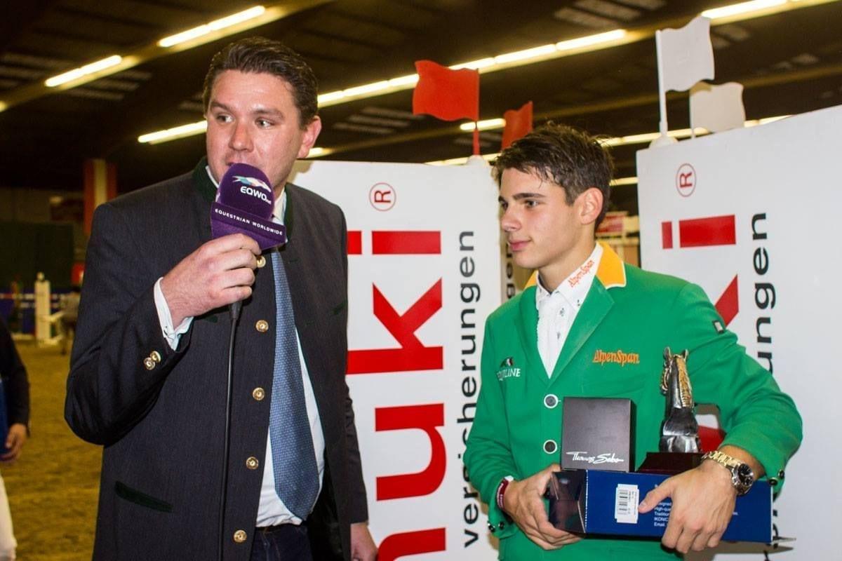 Leonard Platzer war im EY Cup von Linz siegreich. © EY Cup