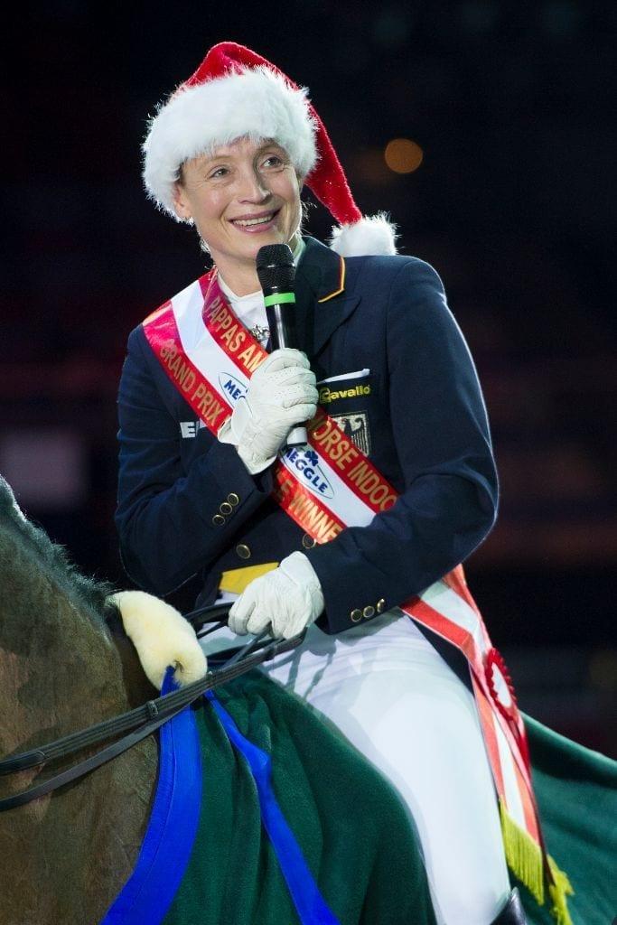 Isabell Werth konnte in Salzburg bereits siegen - schafft sie das heuer auch im Weltcup? © Nini Schäbel