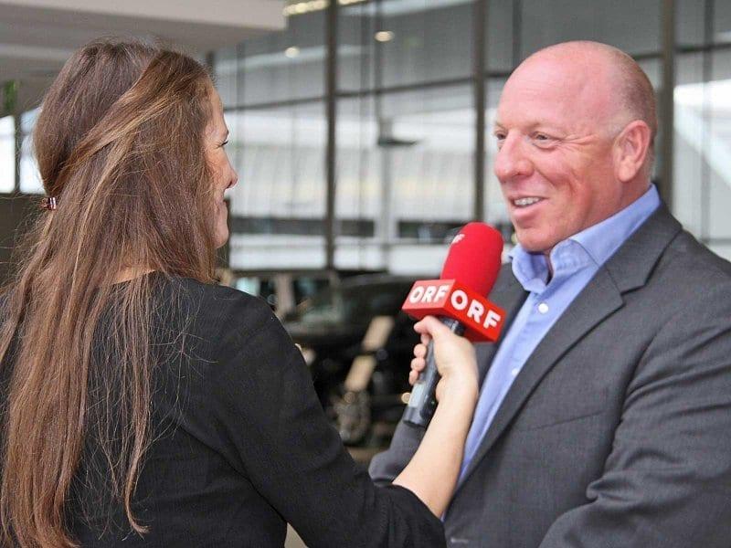 Veranstalter Josef Göllner verriet im ORF Interview schon einiges über die Highlights der Jubliäumsausgabe. © Salzburg CityGuide