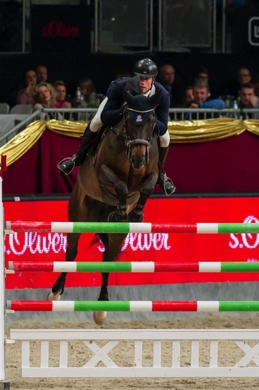 Gert Jan Bruggink (NED) siegte mit Erfolgspferd MCB Ulke im s.Oliver Championat © Michael Graf