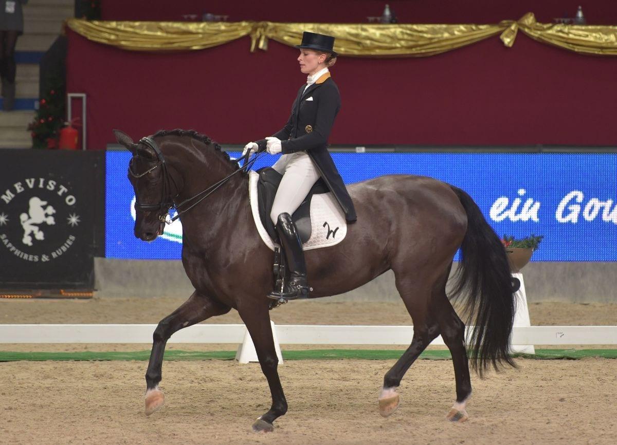 Beatrice Buchwald (GER) zeigte im Meggle Grand Prix Special eine exzellente Vorstellung. © Fotoagentur Dill