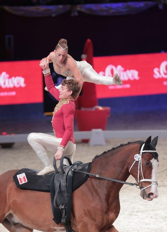 Italienisches Duo top im Pas de deux: Erika di Forti und Lorenzo Lupacchini. © Fotoagentur Dill