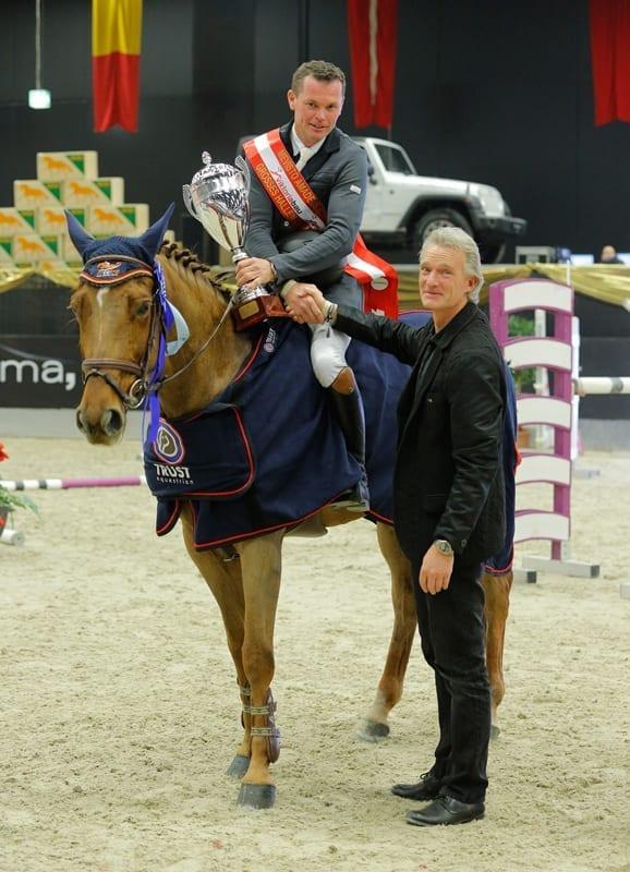 Christian Juza kürte sich mit Annabelle zum Sieger im Großen Salzburger Hallenchampionat. © Fotoagentur Dill