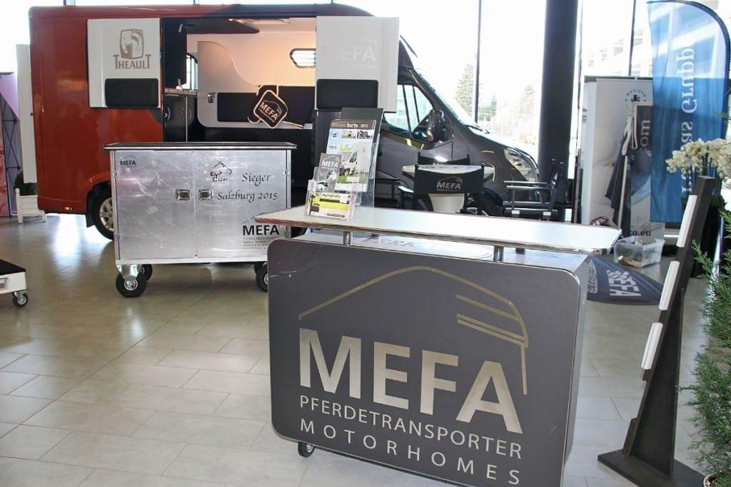 MEFA ist auf der Mevisto Amadeus Horse Indoors 2015 im 8000m2 großen Ausstellerbereich präsent. © www.salzburg-cityguide.at
