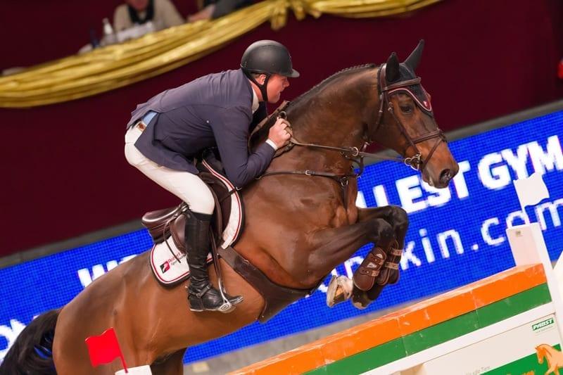 Robert Vos (NED) kürte sich auf Carat zum Sieger im Pappas Masters. © Michael Graf