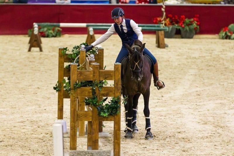 In der Working Equitation wird von Reitern und Pferden Geschicklichkeit, Harmonie und Mut gefordert - ein echtes Highlight bei der Amadeus Horse Indoors! © Michael Graf