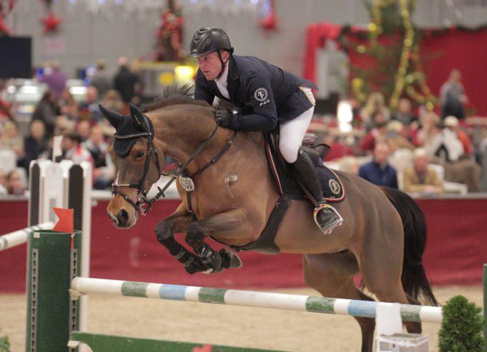 Thomas Kleis (GER) und Fortune belegten Rang drei. © Fotoagentur Dill