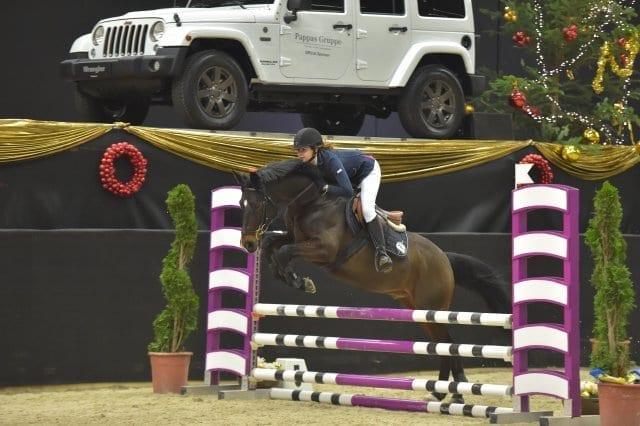 Rang drei in der Amadeus Small Pony Tour war für Mango und Lisa Marie Bernhard (AUT) reserviert. © Fotoagentur Dill
