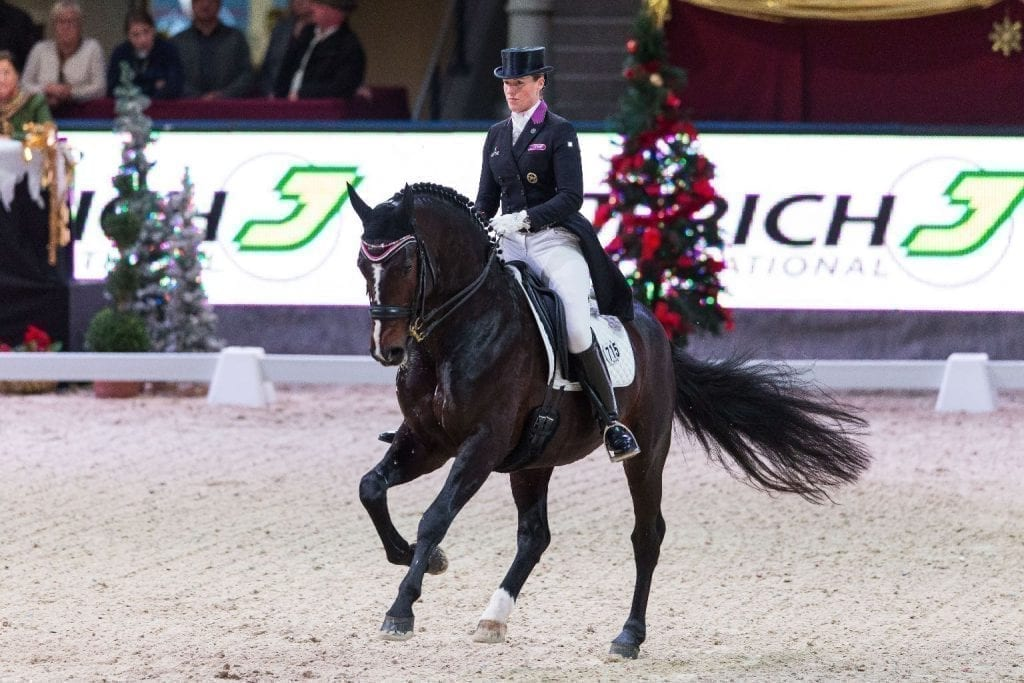 Der imposante Spirit of the Age OLD und Bernadette Brune (GER) holten den Sieg im CDI4* Jerich International Dressage Grand Prix. © Michael Graf