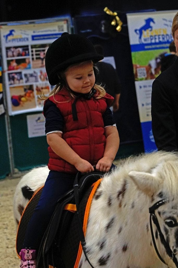 Es geht rund in der Fun4kids area der Mevisto Amadeus Horse Indoors. © Salzburg City Guide