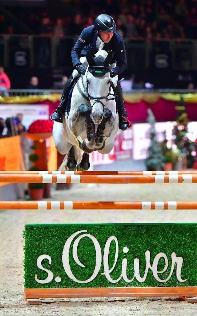 Hans Dieter Dreher und Cool and Easy sind die neuen s. Oliver Champions der Mevisto Amadeus Horse Indoors 2016. © im|press|ions – Daniel Kaiser