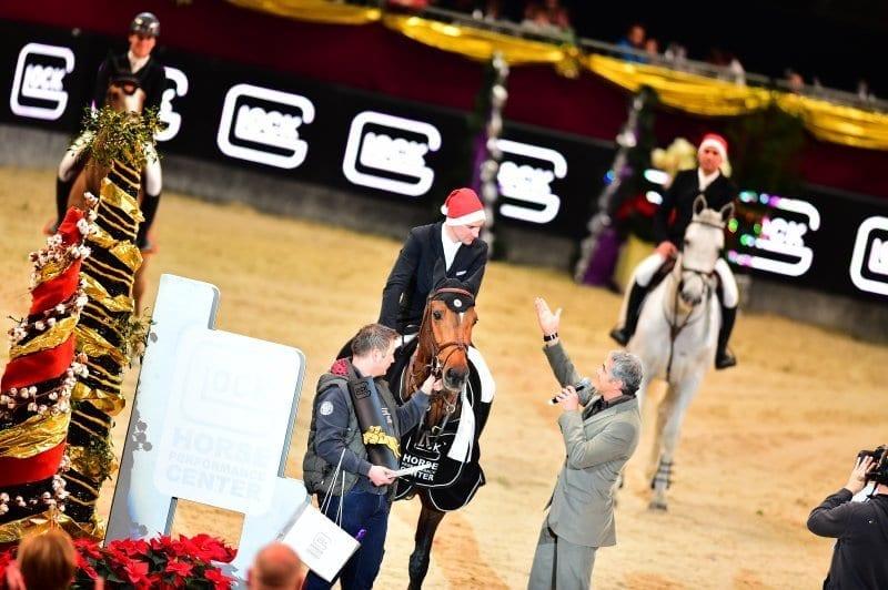 Für den Gaston Glock's Grand Prix Salzburg verwandelt sich die Salzburgarena wieder in eine eigene Welt - die Welt der GLOCK Perfection. © im|press|ions - Daniel Kaiser