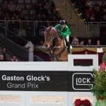 Phänomenal in Form waren Gianni Govoni (ITA) und Antonio beim CSI4* Gaston Glock's Grand Prix Salzburg. © Michael Graf