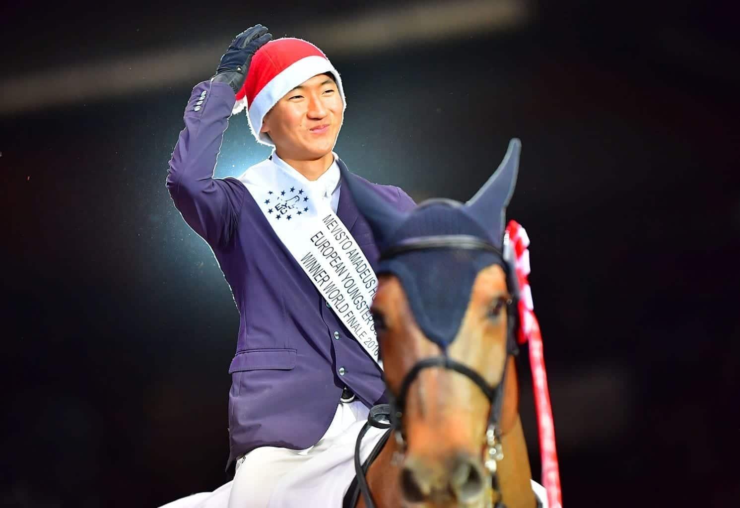 Kwon Manjun (KOR) und Coral Springs sprangen zum Gesamtsieg im EY Cup U25 Weltfinale. © im|press|ions – Daniel Kaiser