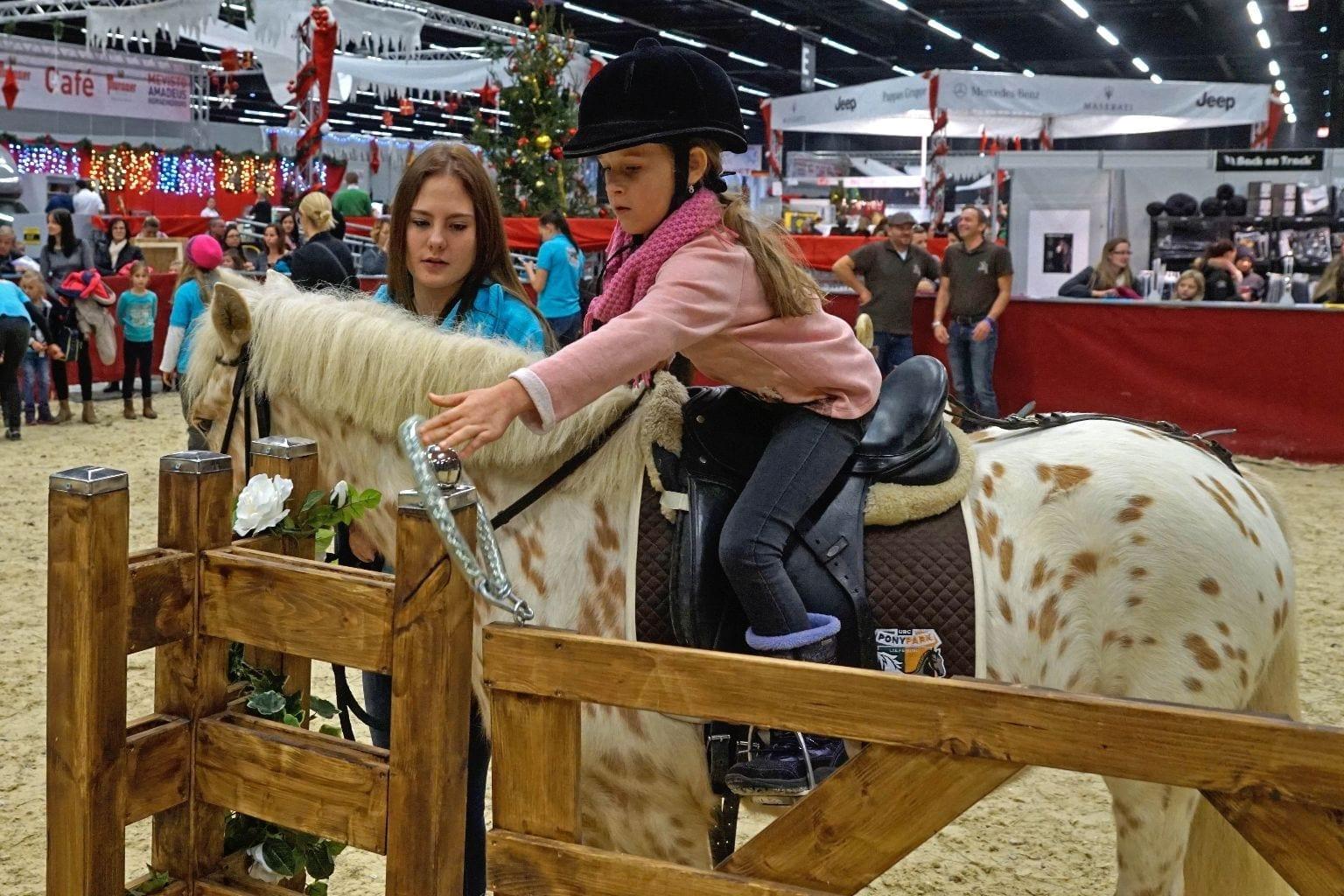 Es geht rund in der Fun4kids area der Mevisto Amadeus Horse Indoors. © Salzburg City Guide