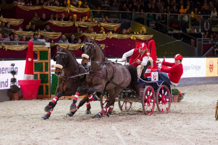 Impressionen von der Mevisto Amadeus Horse Indoors. © Michael Graf