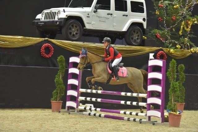 Betty und Adela Opatrna (CZE) wurden in der Amadeus Small Pony Tour Zweite. © Fotoagentur Dill