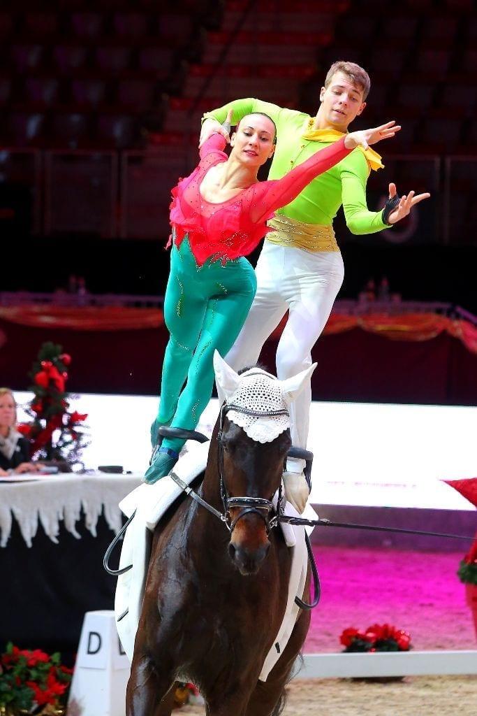 Das Pas de deux Stopazzini & Lupacchini aus Italien siegte im Weltcup Pas de deux. © Andrea Fuchshumer
