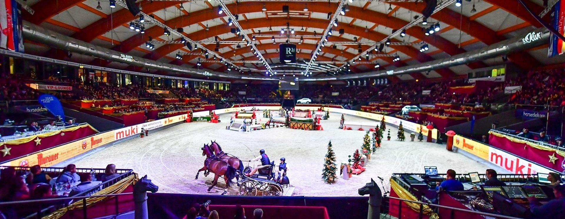 Ein buntes Programm für die Groß und Klein gibt es nahezu rund um die Uhr bei der Amadeus Horse Indoors von 07.-10.Dezember in Salzburg. © im|press|ions – Daniel Kaiser