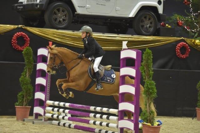 Antonio Pisani (ITA) und Jeanny della Monica belegten Rang drei in der s.Oliver Super Mini Pony Tour. © Fotoagentur Dill
