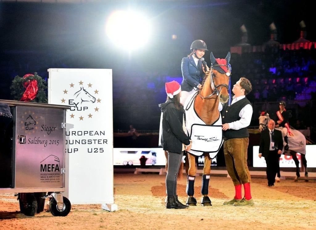 EY Cup Finalsiegerin 2015 war Österreichs Alessandra Reich. © im press ions - Daniel Kaiser