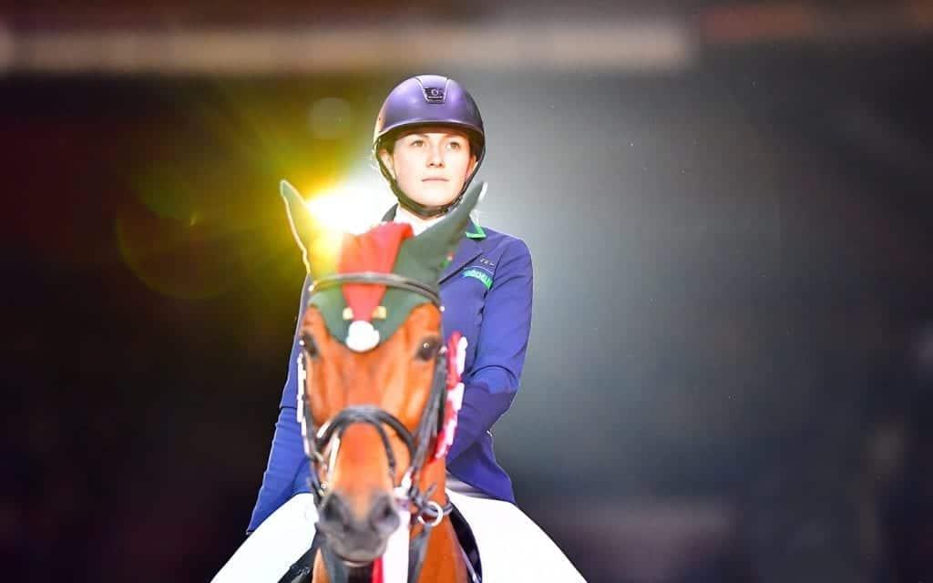 Pia Reich (GER) war eine mehr als würdige EY Cup Etappensiegerin in Salzburg. © im|press|ions – Daniel Kaiser