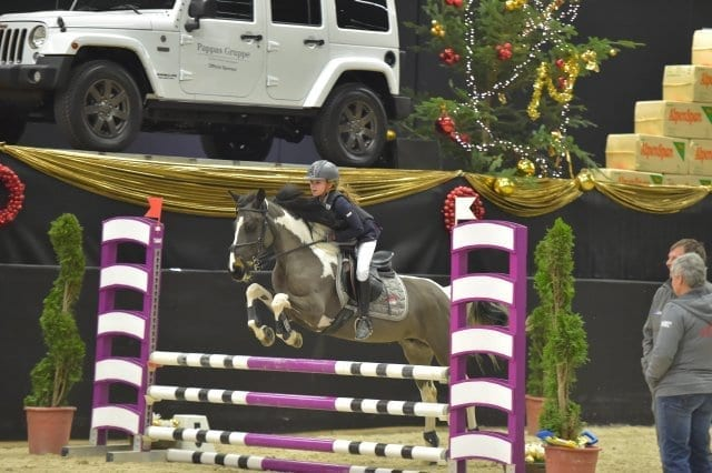 Mit Little Lady gewann Antonia Weixelbraun (AUT/S) die Amadeus Small Pony Tour. © Fotoagentur Dill