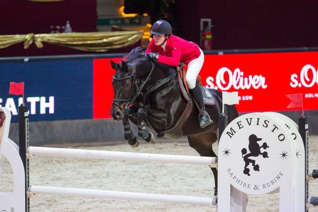 Rang zwei im SPS Small Amateur Tour Finale ging an Carola Würgler-Hauri (SUI) und Elvira. © Michael Graf