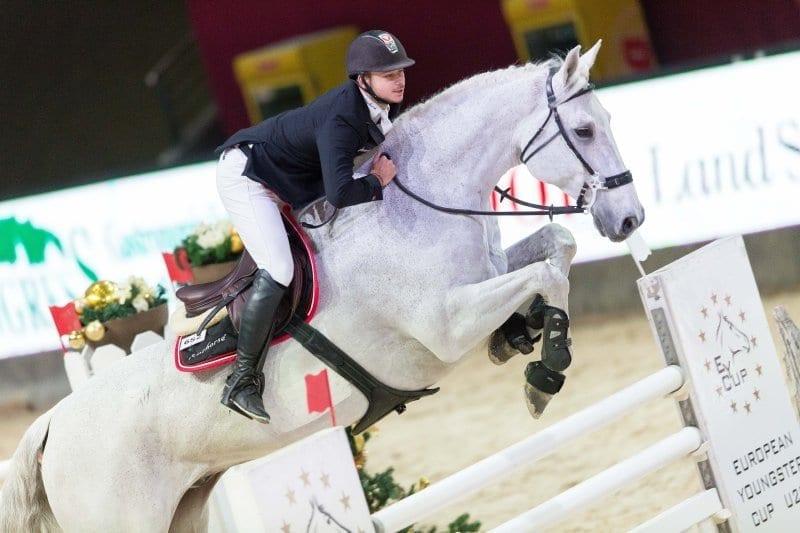 Amadeus Horse Indoors in Salzburg, das ist für insgesamt 27 U-25-Talente vom 7. - 10. Dezember 2017 das Ziel. Favorit im EY-Cup-Finale ist der Oberösterreicher Willi Fischer. © Michael Graf