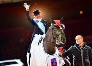 Dorothee Schneider und Sammy Davis Junior beim Dressur Weltcup der Amadeus Horse Indoors in Salzburg. © Daniel Kaiser Im|press|ions