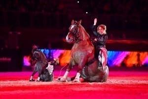 Die große Pferdeshow bei der Amadeus Horse Indoors in Salzburg. © Daniel Kaiser Im|press|ions