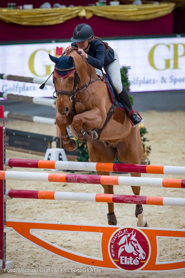 Österreichischer Sieg in der Fixkraft Big Tour für Josefina Goess-Saurau und Cassijo. © Michael Graf
