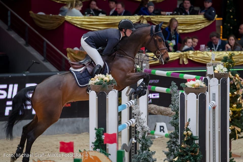 Dritte im Stall Römerhof Championat von Salzburg wurden Je Suis van de Bien und Derin Demirsoy (TUR). © Michael Graf