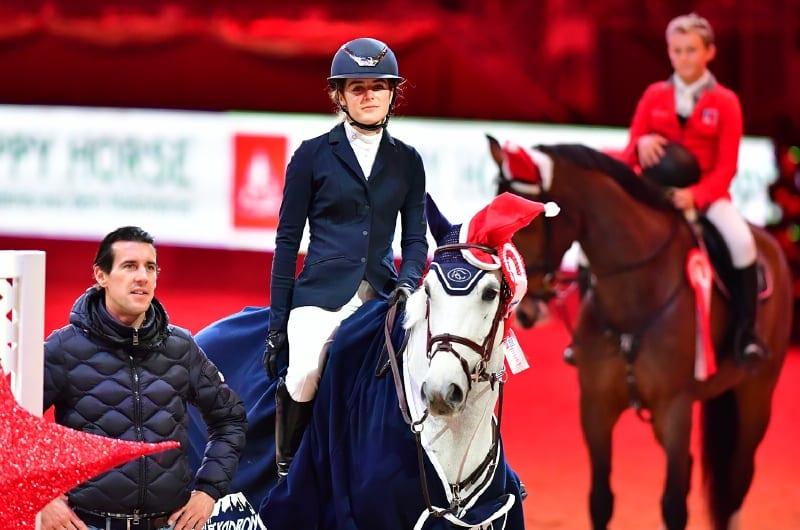 Der Sieg in der Happy Horse Small Amateur Tour ging an Berenice Laurent (FRAU) auf Zimza la Bim. © Daniel Kaiser