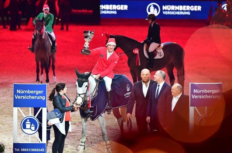 4-Sterne-Sieg Nummer zwei für Tobias Meyer bei der Amadeus Horse Indoors 2018. © Daniel Kaiser