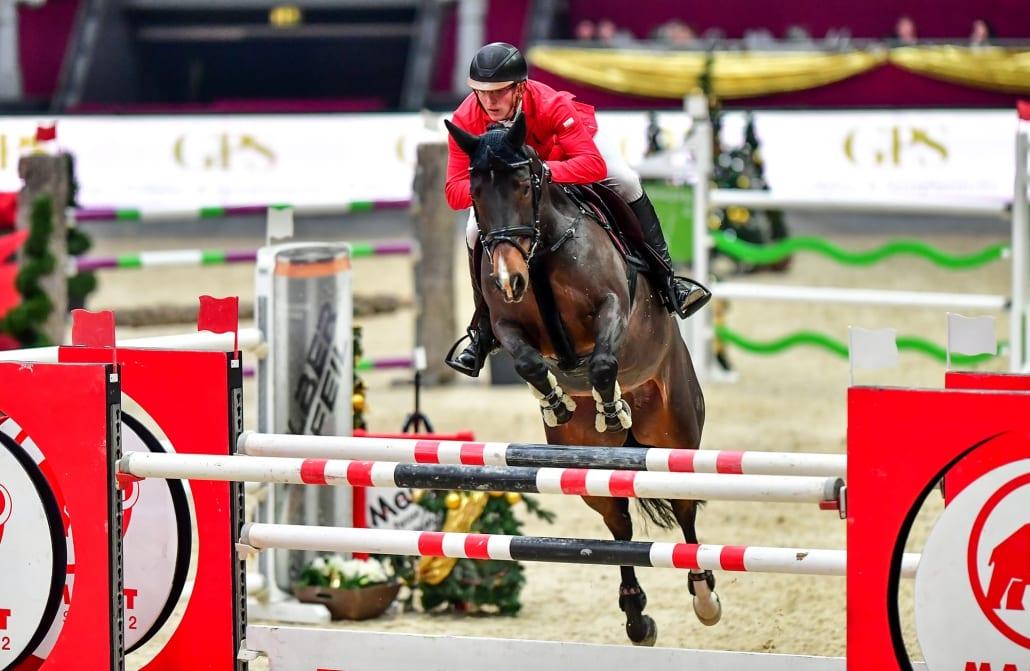 Der Sieg im ersten 4-Sterne-Springen der 13. Amadeus Horse Indoors geht an Tobias Meyer (GER) und Coeur de Lion. © Daniel Kaiser
