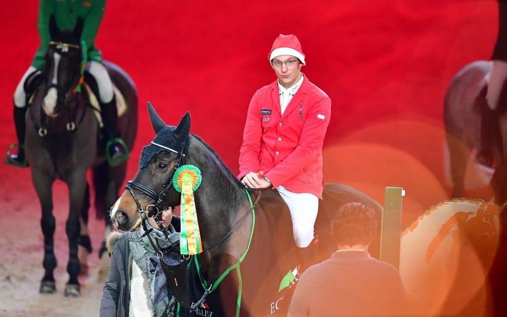 Der AlpenSpan Big Tour Sieger der 13. Amadeus Horse Indoors: Tobias Meyer (GER). © Daniel Kaiser