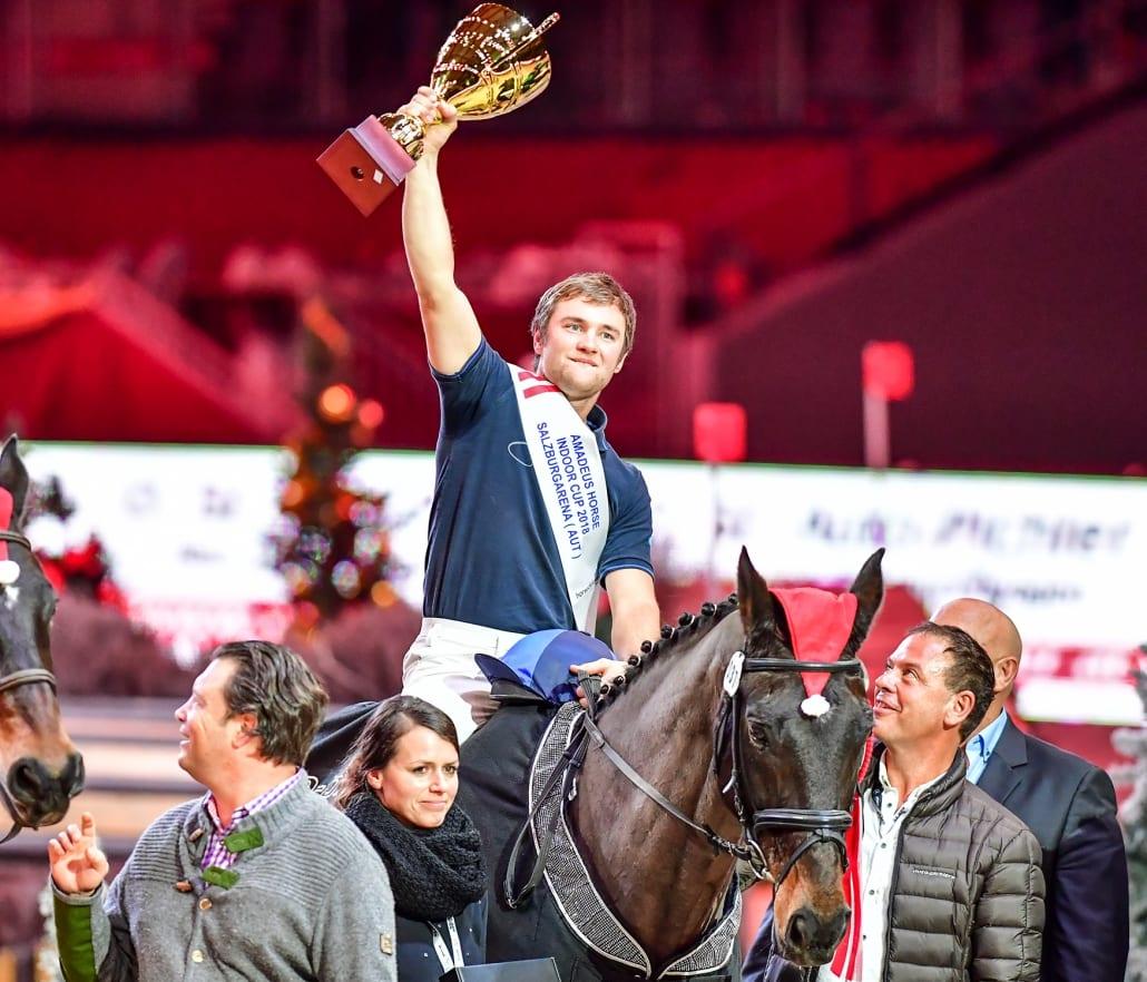 So sehen Sieger aus: Fabian Held (GER). © Daniel Kaiser