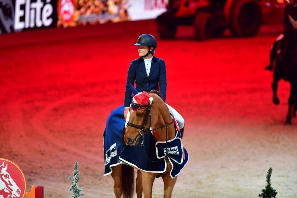 Josefina Goess Saurau bei der Siegerehrung zu Fixkraft Big Amateur Tour. © Daniel Kaiser