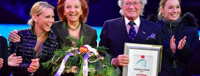 Mit Marina und Toni Meggle wurden 2018 zwei ganz besondere Pferdemenschen mit dem Amadeus Award ausgezeichnet. © Daniel Kaiser
