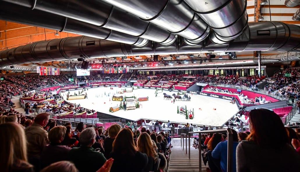 Die 13. Amadeus Horse Indoors gibt's am 12.12.2018 auf ORF Sport+ zum Nachschauen. © Daniel Kaiser