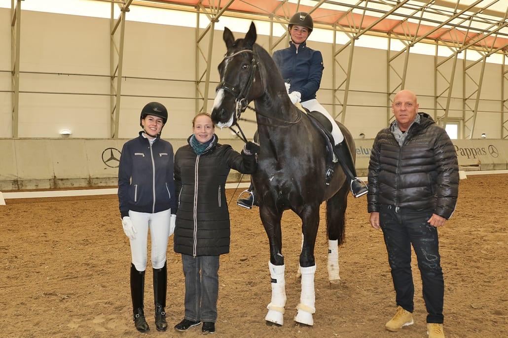 Die unumstrittene Dressurqueen Isabell Werth kam zu einer Trainingssession nach Salzburg, bevor sie bei der Amadeus Horse Indoors (5.-8.12.2019) am Dressur-Weltcup teilnehmen wird. © Salzburg-Cityguide